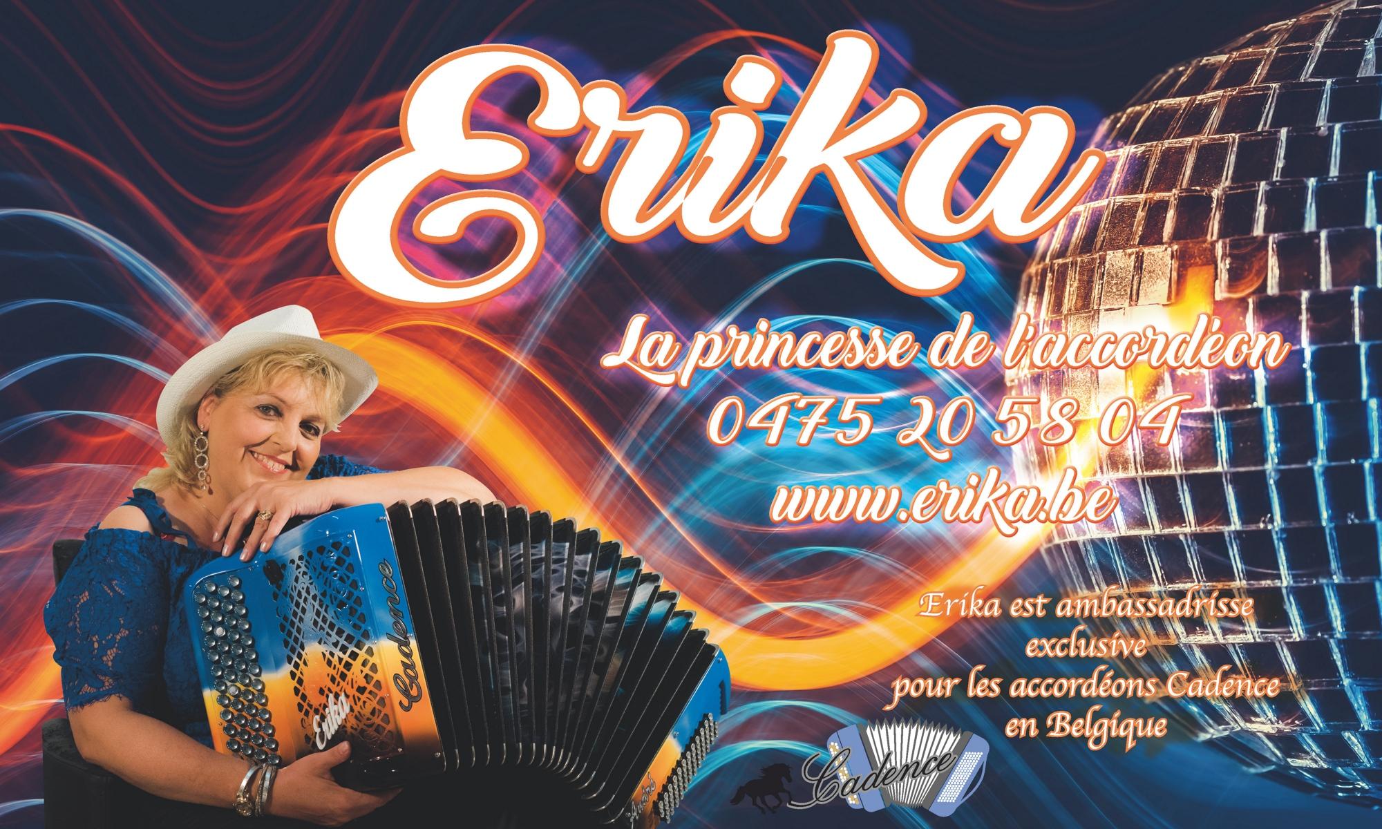 Discographie d'Erika