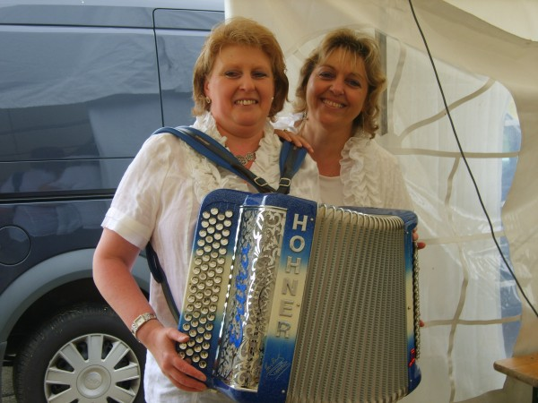 accordeon, erika, musique, fete, the, dansant, velos, cycliste