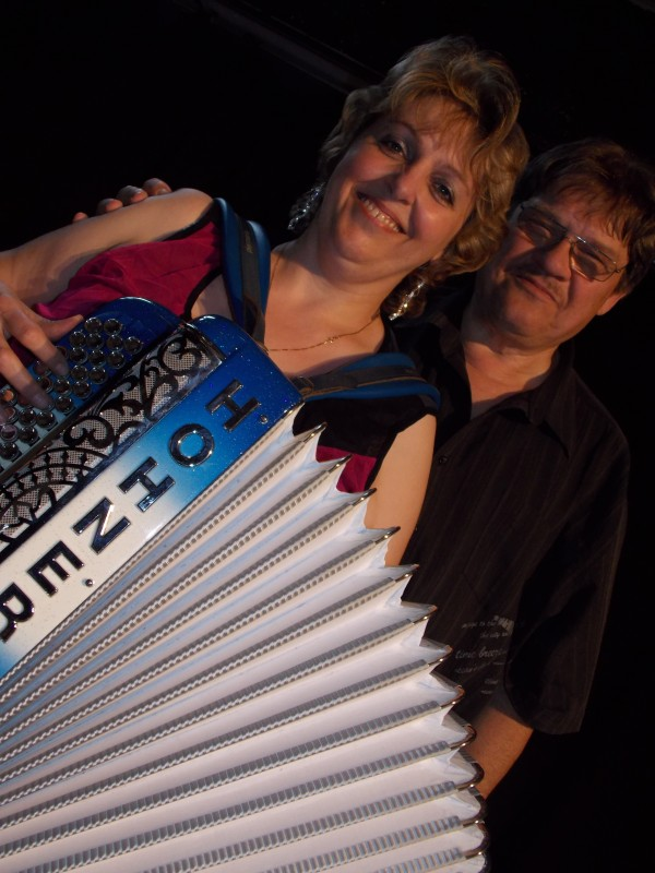accordeon, erika, musique, segniors, the, dansant