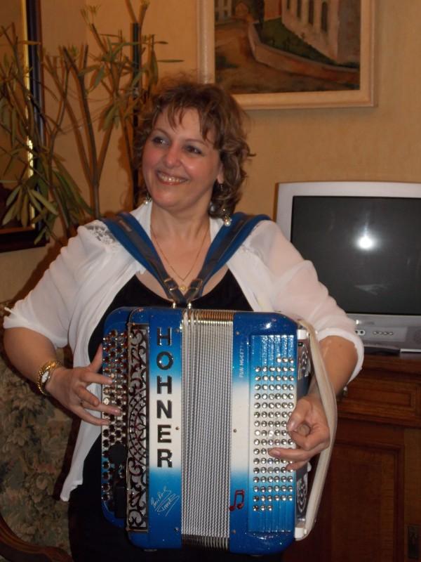 accordeon, erika, musique, fete