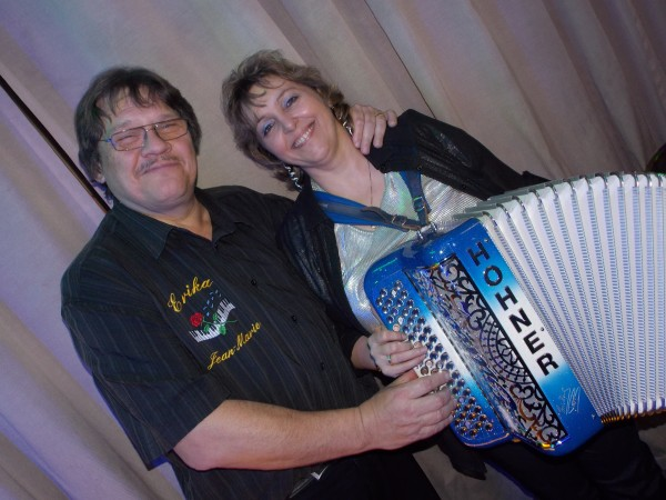 accordeon, erika, musique, fete, the, dansant,dancing