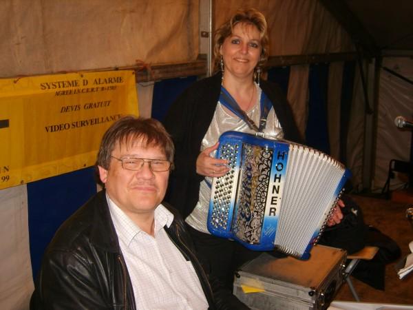 accordeon, erika, musique, souper, chapiteau