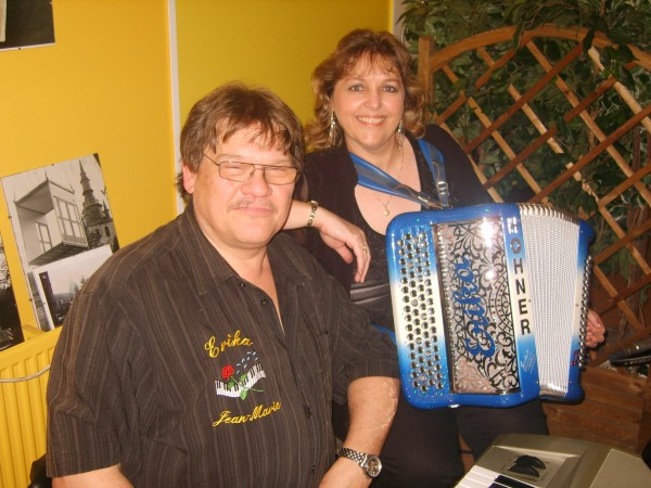 accordeon, erika, musique, fete, the, dansant,