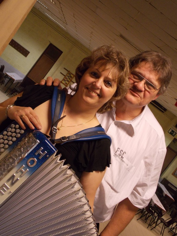 accordeon, erika, musique, fete, the, dansant