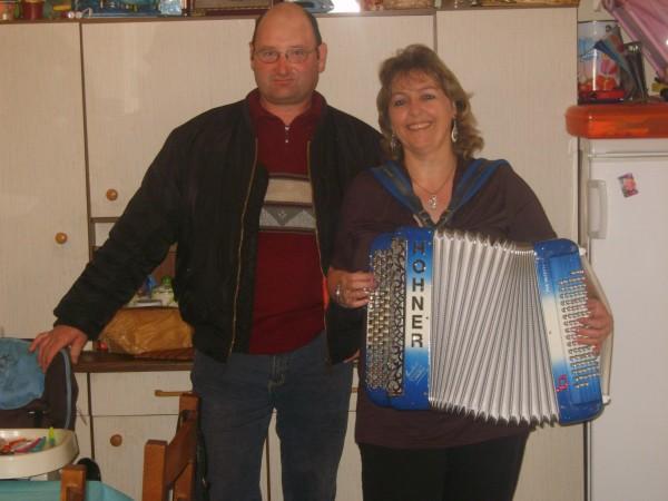 accordeon, erika, musique, anniversaire