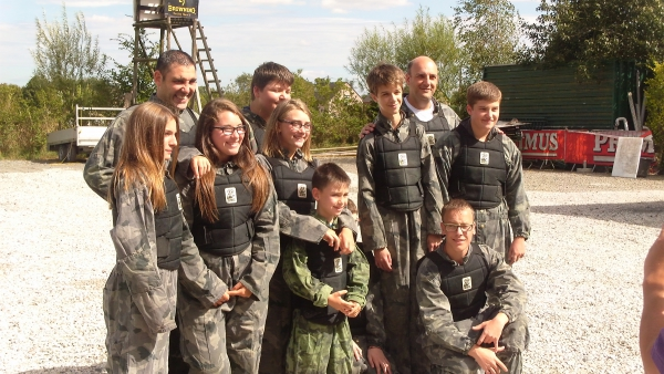 paintball, anniversaire